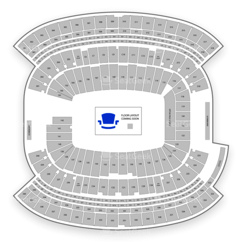 Gillette Stadium seating chart Taylor Swift