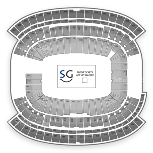 Gillette Stadium Seating Chart NHL
