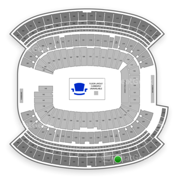 New England Patriots at Gillette Stadium Section 328 View