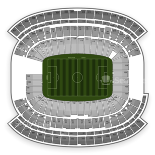 Gillette Stadium Seating Chart International Soccer