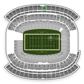 New England Patriots at Gillette Stadium Section 310 View