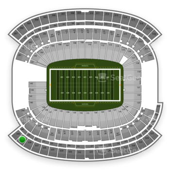 New England Patriots at Gillette Stadium Section 339 View