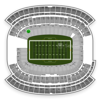 NFL at Gillette Stadium Section 104 View