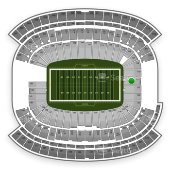 NFL at Gillette Stadium Section 120 View