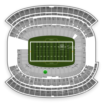 NFL at Gillette Stadium Section 133 View