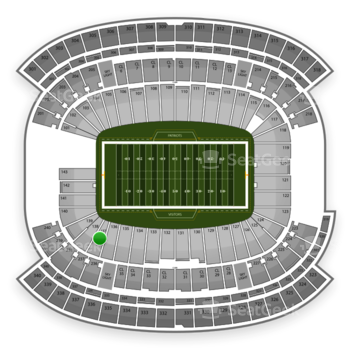 NFL at Gillette Stadium Section 137 View