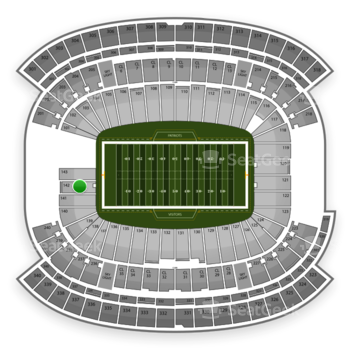 NFL at Gillette Stadium Section 142 View