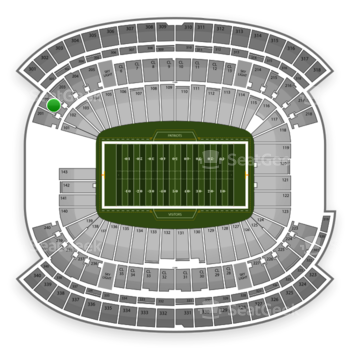 NFL at Gillette Stadium Section 202 View