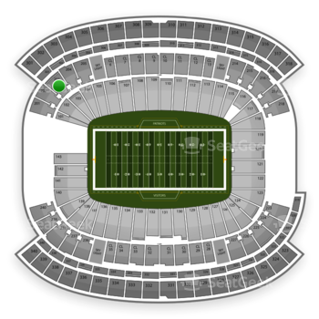 NFL at Gillette Stadium Section 203 View