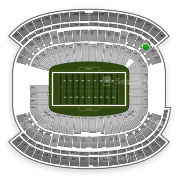 NFL at Gillette Stadium Section 216 View