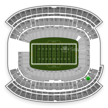 NFL at Gillette Stadium Section 225 View