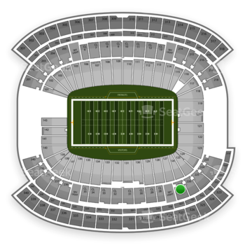 NFL at Gillette Stadium Section 227 View