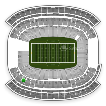 NFL at Gillette Stadium Section 237 View