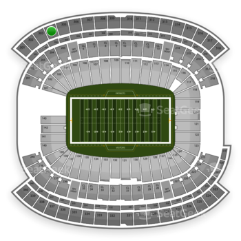 NFL at Gillette Stadium Section 304 View