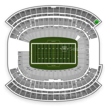 NFL at Gillette Stadium Section 318 View