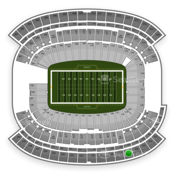 NFL at Gillette Stadium Section 327 View