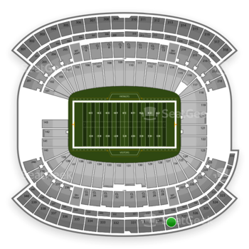 NFL at Gillette Stadium Section 328 View