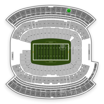 New England Patriots at Gillette Stadium Section 313 View