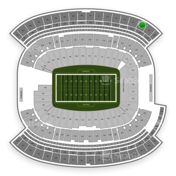 New England Patriots at Gillette Stadium Section 316 View