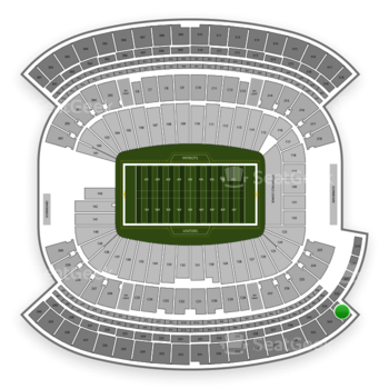 New England Patriots at Gillette Stadium Section 323 View