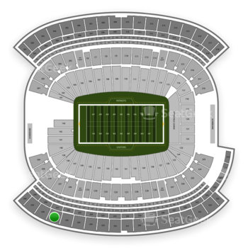 New England Patriots at Gillette Stadium Section 337 View