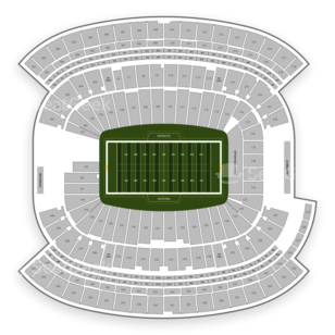 New England Patriots Seating Chart