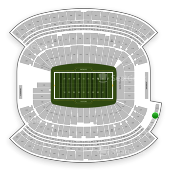 New England Patriots at Gillette Stadium Section 320 View