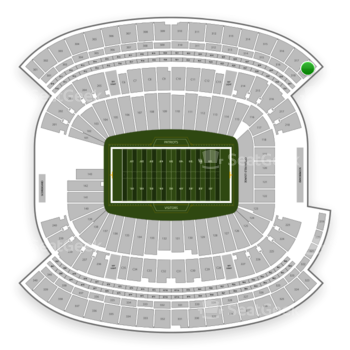 New England Patriots at Gillette Stadium Section 318 View