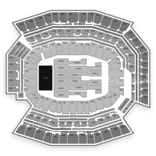Lincoln Financial Field Seating Chart Comedy