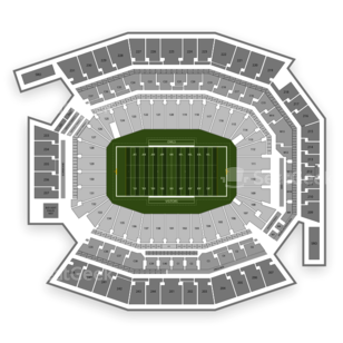 Lincoln Financial Field Seating Chart NCAA Football
