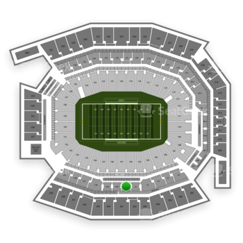 Temple Owls Football at Lincoln Financial Field C 1 View