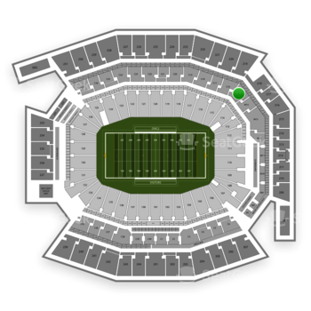 Temple Owls Football at Lincoln Financial Field C 15 View