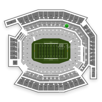Temple Owls Football at Lincoln Financial Field C 18 View