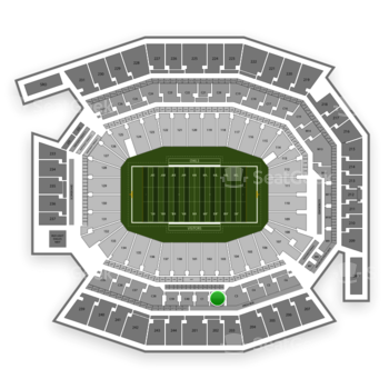 Temple Owls Football at Lincoln Financial Field C 2 View
