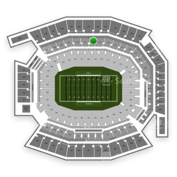 Temple Owls Football at Lincoln Financial Field C 21 View