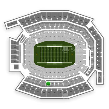 Temple Owls Football at Lincoln Financial Field C 39 View