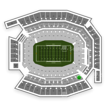 Temple Owls Football at Lincoln Financial Field C 6 View