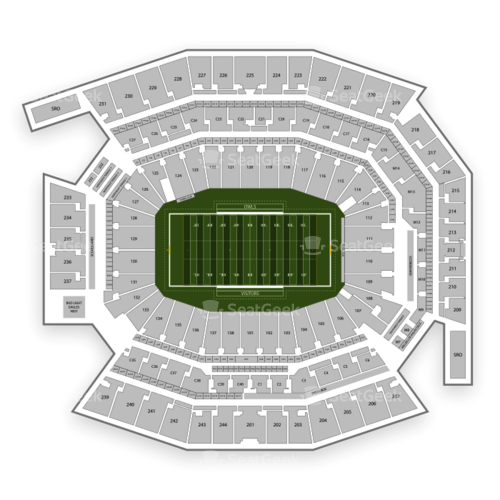 Temple Owls Football Seating Chart