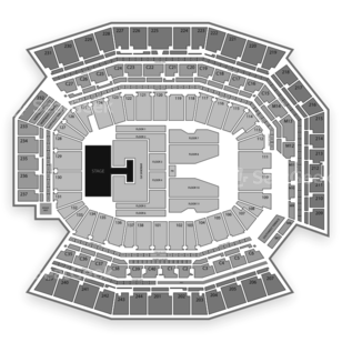 Lincoln Financial Field Seating Chart Concert