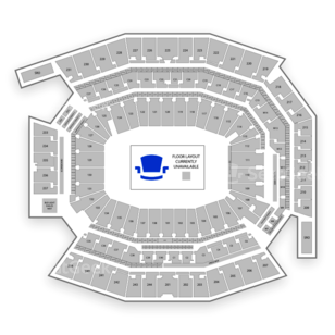 Lincoln Financial Field Seating Chart NHL