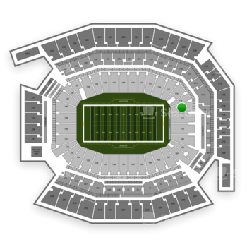 Philadelphia Eagles at Lincoln Financial Field Section 112 View