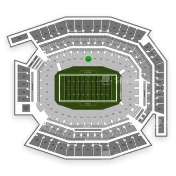 Philadelphia Eagles at Lincoln Financial Field Section 120 View