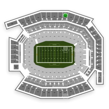 Philadelphia Eagles at Lincoln Financial Field Section 223 View