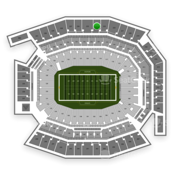 Philadelphia Eagles at Lincoln Financial Field Section 224 View