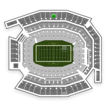 Philadelphia Eagles at Lincoln Financial Field Section 225 View