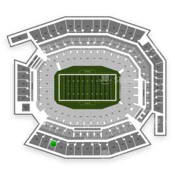 Philadelphia Eagles at Lincoln Financial Field Section 241 View