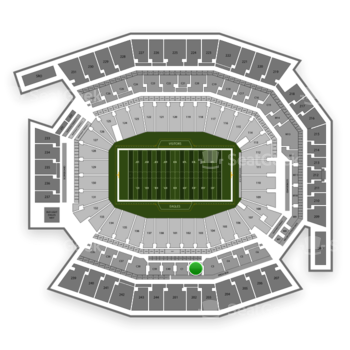 Philadelphia Eagles at Lincoln Financial Field C 2 View