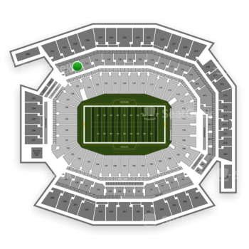 Philadelphia Eagles at Lincoln Financial Field C 26 View