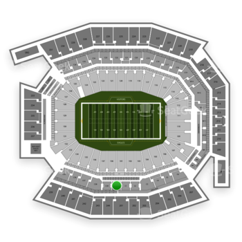 Philadelphia Eagles at Lincoln Financial Field C 40 View
