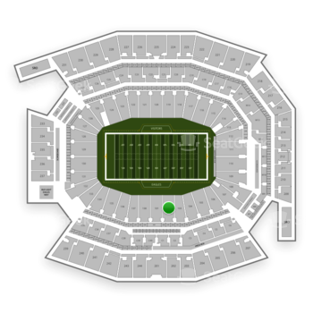 Philadelphia Eagles At Lincoln Financial Field Section 102 View All Seating Charts